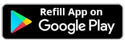 Refills available on Google Play